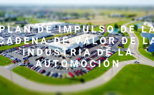 Plan De Impulso De La Cadena De Valor De La Industria De La Automoción